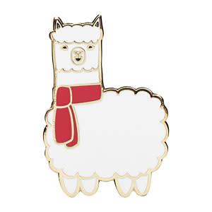 Alpaca Enamel Pin