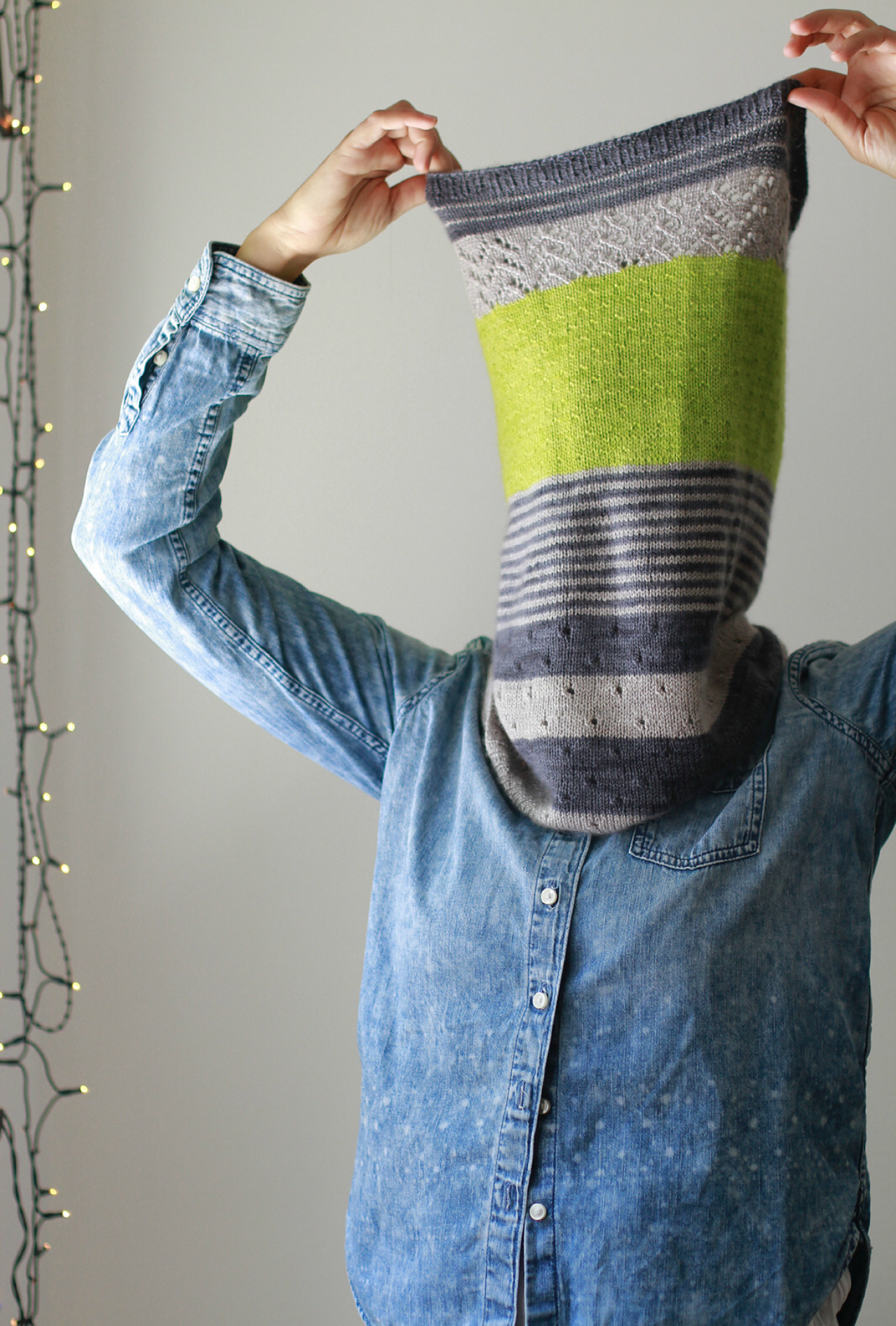 Ravelry Patterns 3 Color Cashmere Cowl by Joji