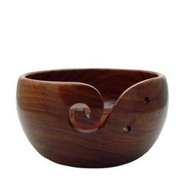 Estelle Yarn Bowl -  Acacia Large