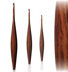 Furls Furls Streamline - Rosewood Ergonomic Wooden Crochet Hooks