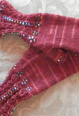 Beaded Knit Gloves