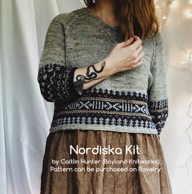 Nordiska Sweater by Caitlin Hunter Kit