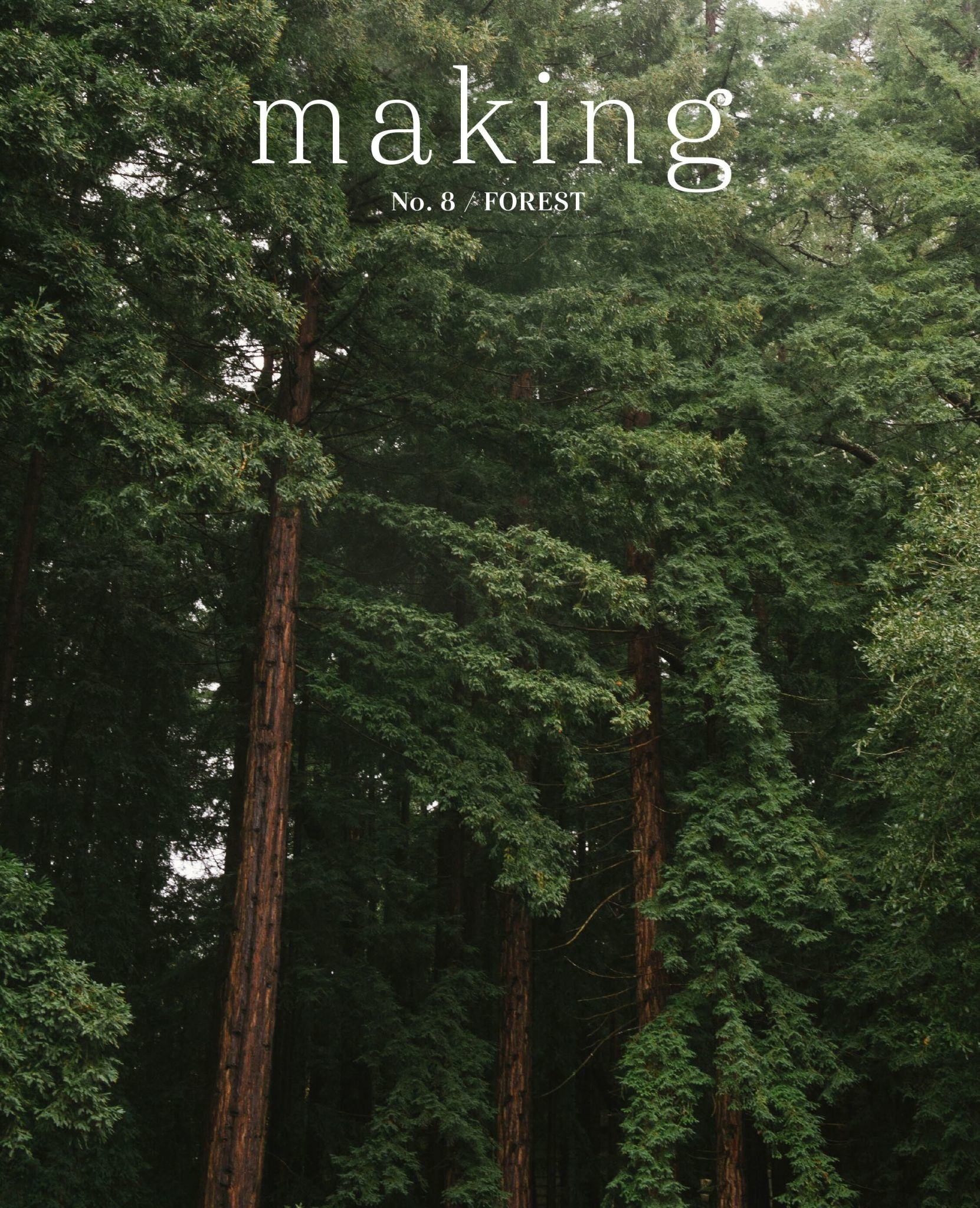 Making Magazine No 8 / Forest