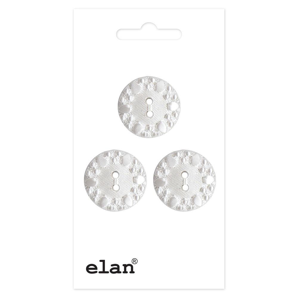 ELAN 057134A - 18 mm 2 Hole Button