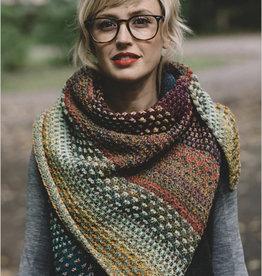 Nightshift Shawl - Learn Mosaic Knitting Pre-Pay KAL