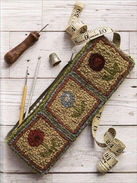 Yarn Hooking by Carole Rennison