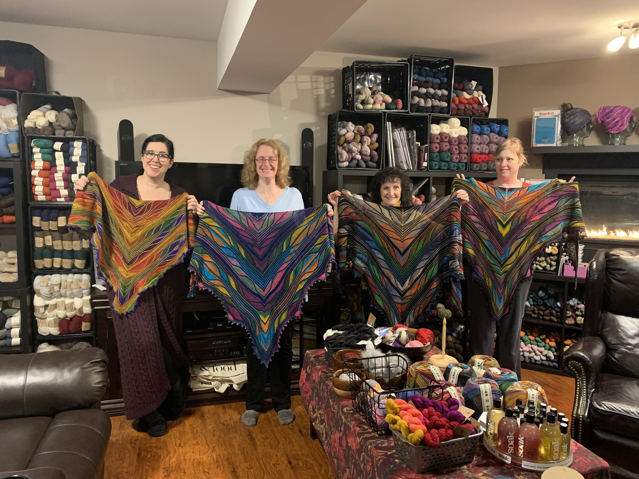 Friday, February 7, 2020, Issue 133: What is on your needles?