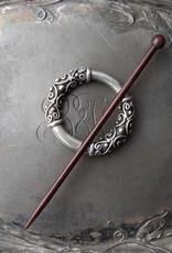 JUL Designs JUL Designs Pewter Filigree Cuff / Shawl Pin