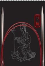 "ChiaoGoo ChiaoGoo 40"" (100cm) Red Lace Fixed Circulars"