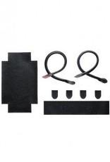 Bergere de France Black Faux Leather Tote Bag Kit