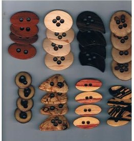 Nature's Wonders Nature's Wonder Wooden Buttons