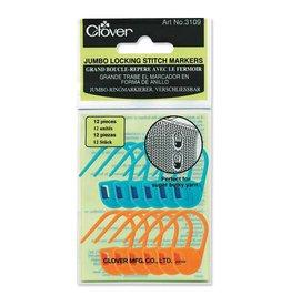 Clover Clover Jumbo Locking Stitch Markers 3109