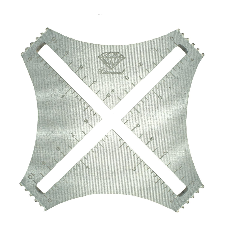 Diamond Diamond Yarns Swatch Gauge - Clear