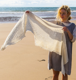 The Fibre Company Seacote Shawl by Paulina Popiolek Kit