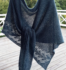 The Fibre Company Irish Sea Shawl by Susanna Winter KIT
