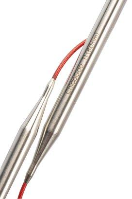 "ChiaoGoo ChiaoGoo 24"" (60cm) Red Lace Fixed Circulars"