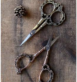 NNK Press Victorian Scrollwork Scissors