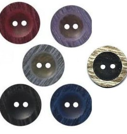 Bergere de France Set of 7 Buttons, 30 mm