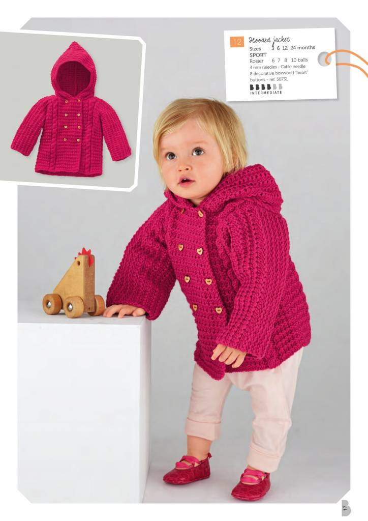 Bergere de France Mag. 182 - Winter Collection 0 - 2 years