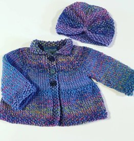 Petunia Baby Coat & Turban Hat
