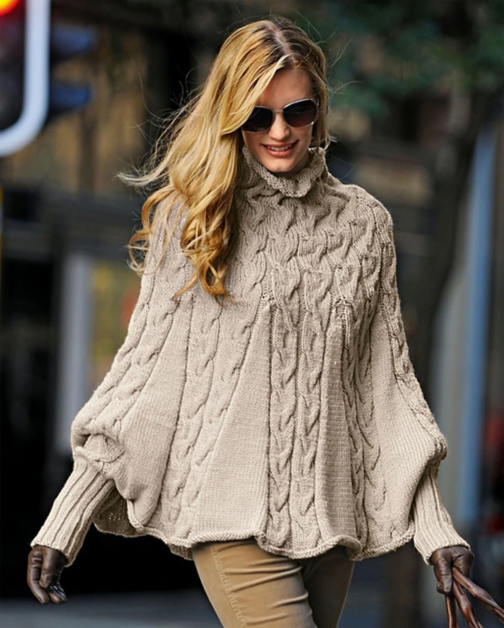 Bergere de France 396 - Poncho by Bergère de France