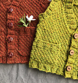 Ravelry Patterns Hobbit Vest (with pocketses) by Lisa Chemery