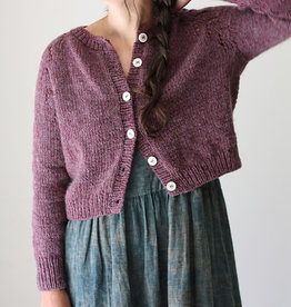 Felix Cardigan by Amy Christoffers Kit in Drops Air