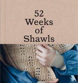 Laine Publishing 52 Weeks of Shawls by Laine Magazine