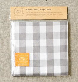 Cocoknits Cocoknits Check Your Gauge Cloth