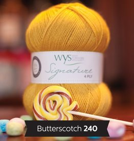West Yorkshire Spinners WYS Signature 4 Ply Solids