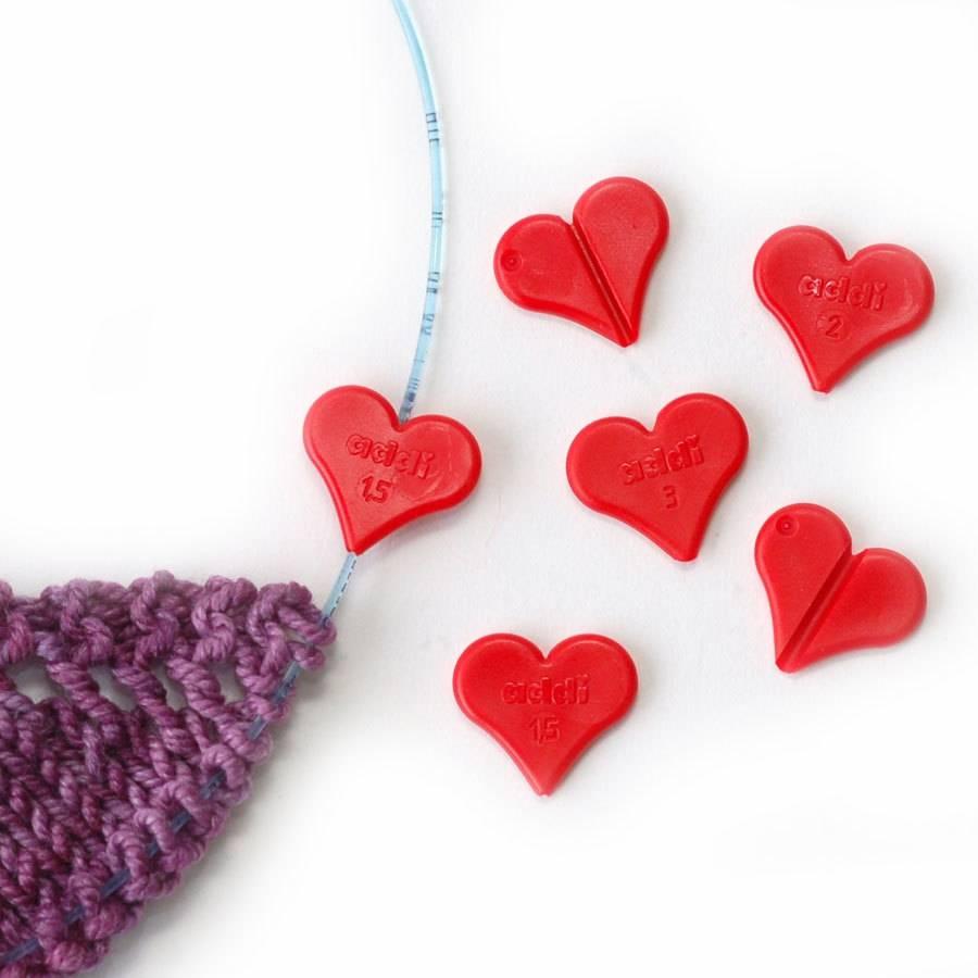 Addi Addi Clip Hearts