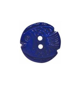 "Cirque CIRQUE Novelty 2-Hole Button - 22mm (7/8"") - Fish"