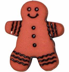 ELAN 952710JB - 18mm - Gingerbread Man Shank Button