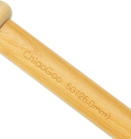 "ChiaoGoo ChiaoGoo Wood Single Point 13"" (33 cm)"