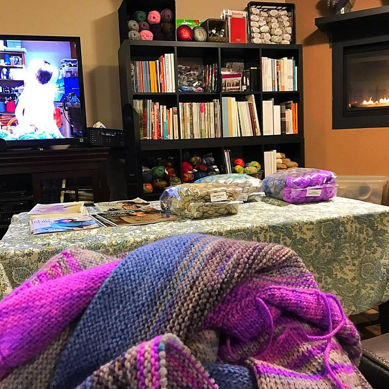 Free Pattern Fridays - Friday, March 2, 2018: What a wild weather day yesterday was!