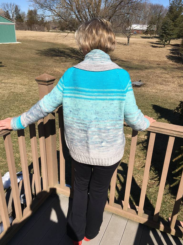 Free Pattern Fridays - Friday, March 23, 2018, Issue 46: The view from here...