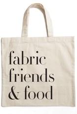 Getaway Press Fabric, Friends & Food Tote Bag