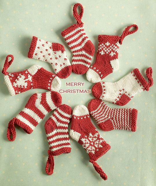 Christmas Mini Stocking Workshop
