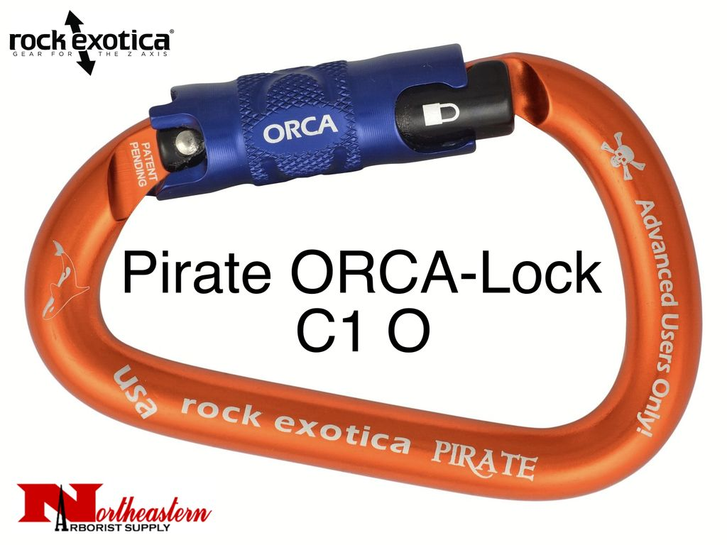 Rock Exotica Carabiner, Pirate ORCA-Lock