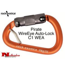 Rock Exotica Carabiner, Pirate WireEye Auto-Lock