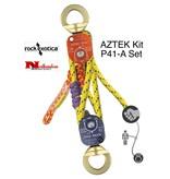 Rock Exotica AZTEK Pulley & Rope Set Assembled (1 Pulley Set, 1-Rope Set)