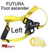 KONG FUTURA Foot ascender - Left, Black, tree climbing gear