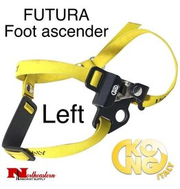 KONG FUTURA Foot ascender - Left, Black