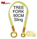 KONG TREE FORK Sling, Yellow 90cm Long