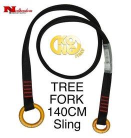 KONG TREE FORK Sling, Black 140cm Long