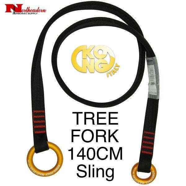 KONG TREE FORK Sling, Black 140cm Long