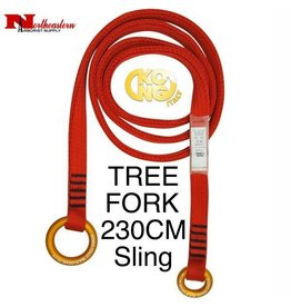 KONG TREE FORK Sling, Red 230cm Long