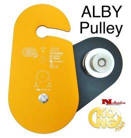 "KONG ALBY Block, Aluminum 3/4"" to  1"" Rope,  2"" Sheave, 11,200lbs. WLL"