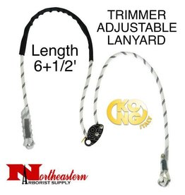 KONG Trimmer, 6+1/2' Adjustable Positioning Lanyard