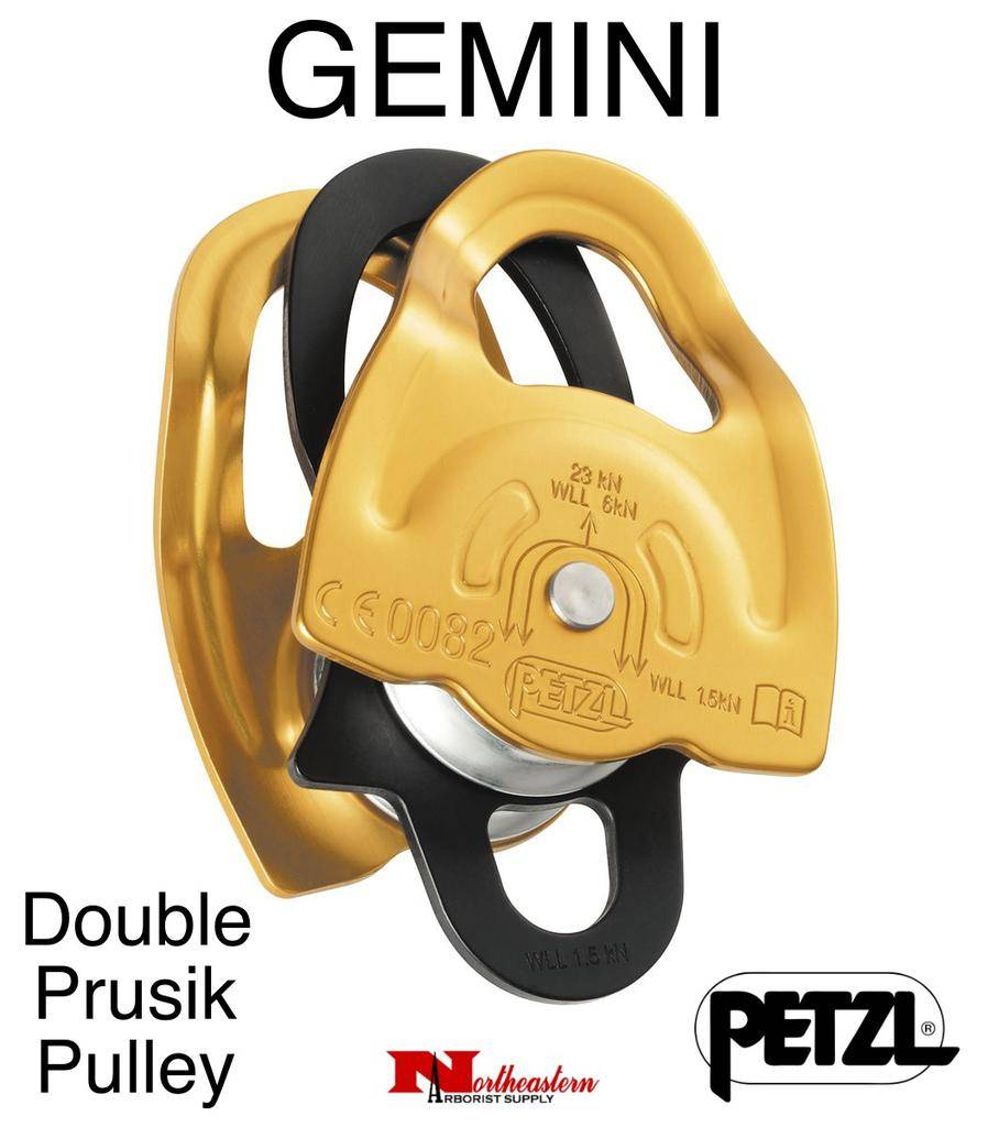 Petzl Pulley, GEMINI, lightweight double Prusik
